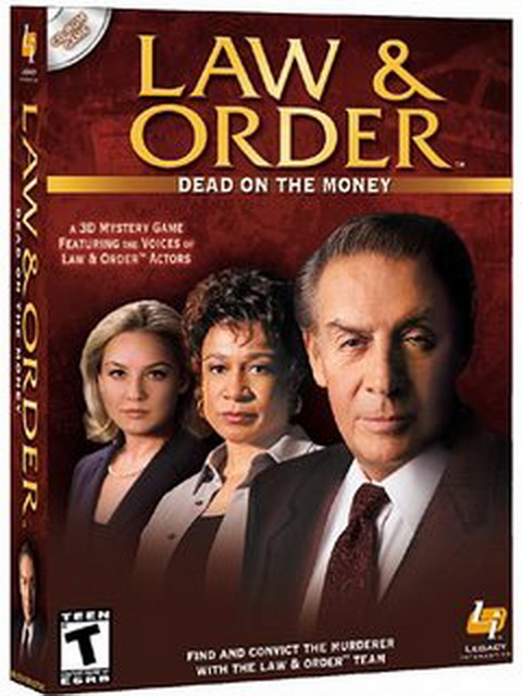 Jerry Orbach, S. Epatha Merkerson, and Elisabeth Röhm in Law & Order: Dead on the Money (2002)