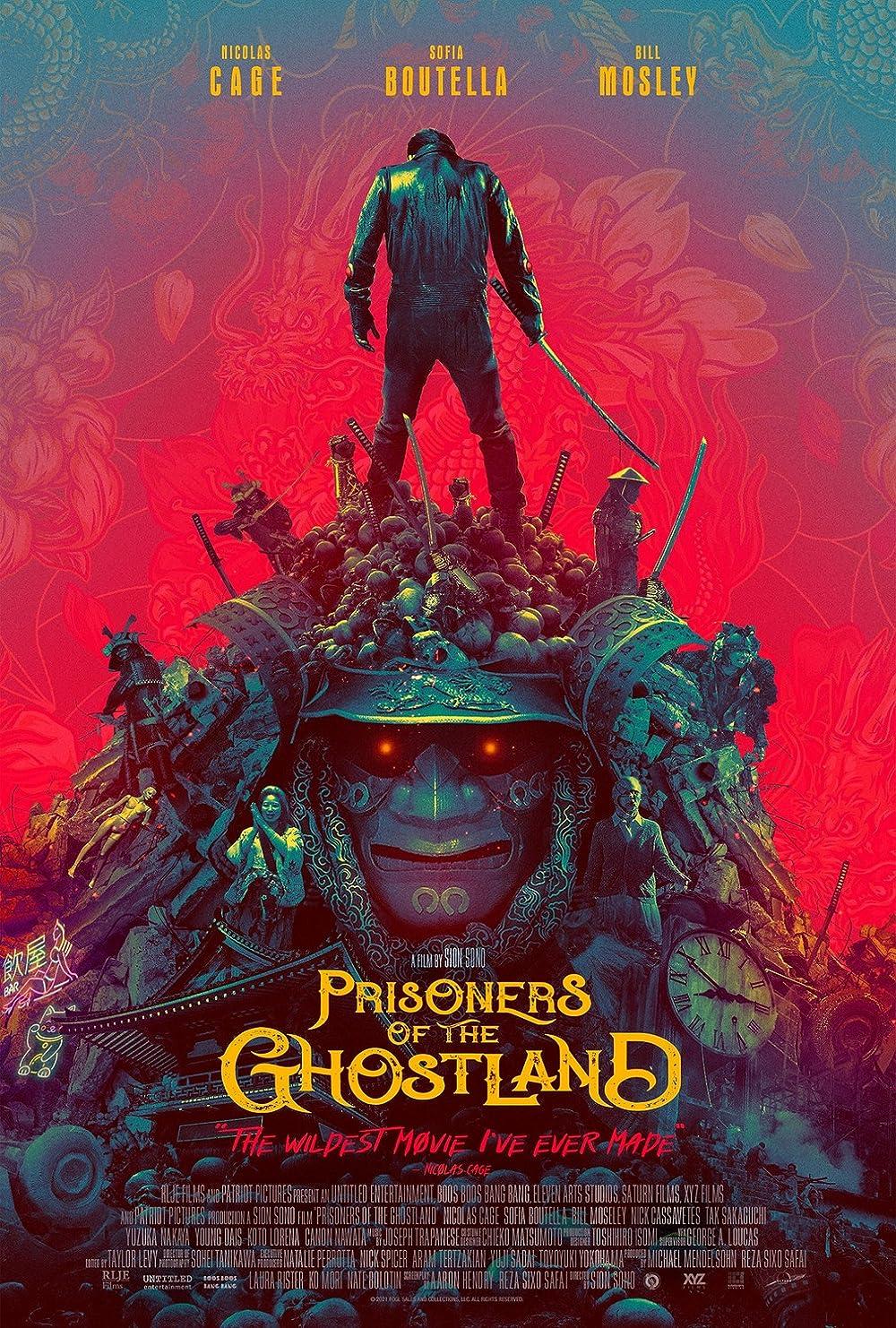 Prisoners of the Ghostland 2021 English 720p HDRip ESub 800MB Download