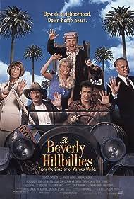Erika Eleniak, Dabney Coleman, Cloris Leachman, Jim Varney, Lily Tomlin, and Diedrich Bader in The Beverly Hillbillies (1993)