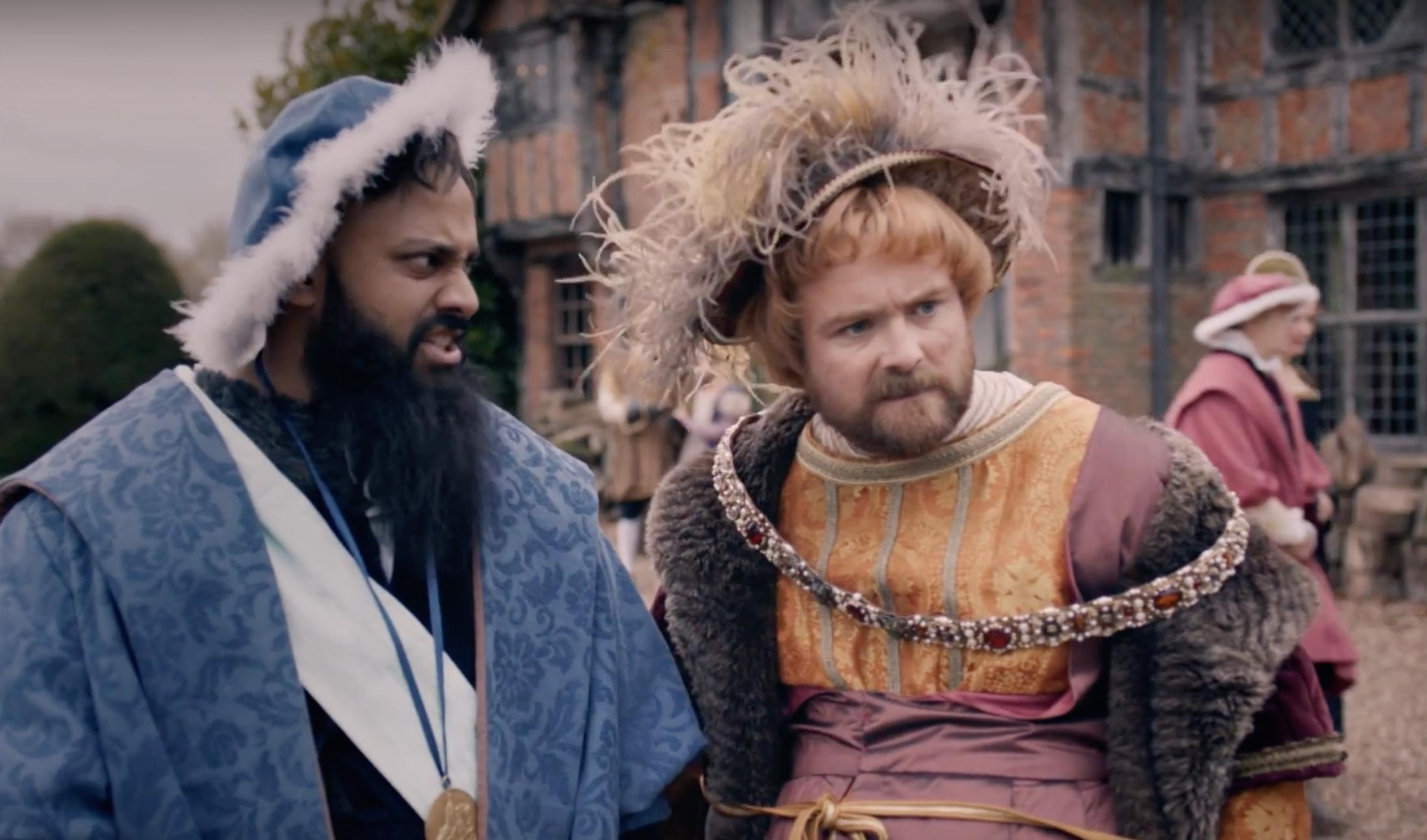 Neil Maskell and Guz Khan in Drunk History: UK (2015)
