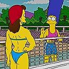 Julie Kavner and Pamela Reed in The Simpsons (1989)