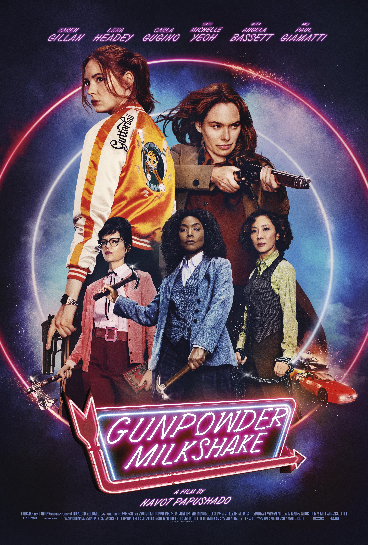 Phim Mẹ Con Sát Thủ - Gunpowder Milkshake (2021)