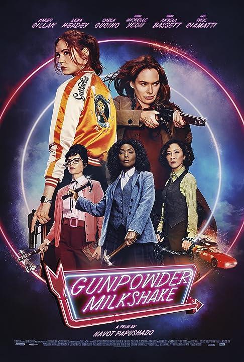 Gunpowder Milkshake 2021 English Movie 720p NF HDRip 800MB Download
