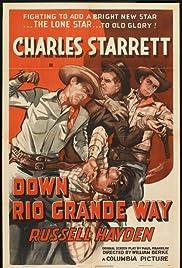Down Rio Grande Way Poster