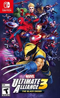 Marvel Ultimate Alliance 3: The Black Order (2019 Video Game)