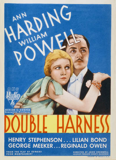 William Powell and Ann Harding in Double Harness (1933)