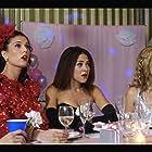 Camille Guaty, Rainy Kerwin, and Christina Ulloa in The Wedding Invitation (2017)