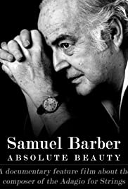 Samuel Barber: Absolute Beauty Poster