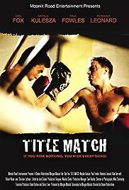 Title Match Poster