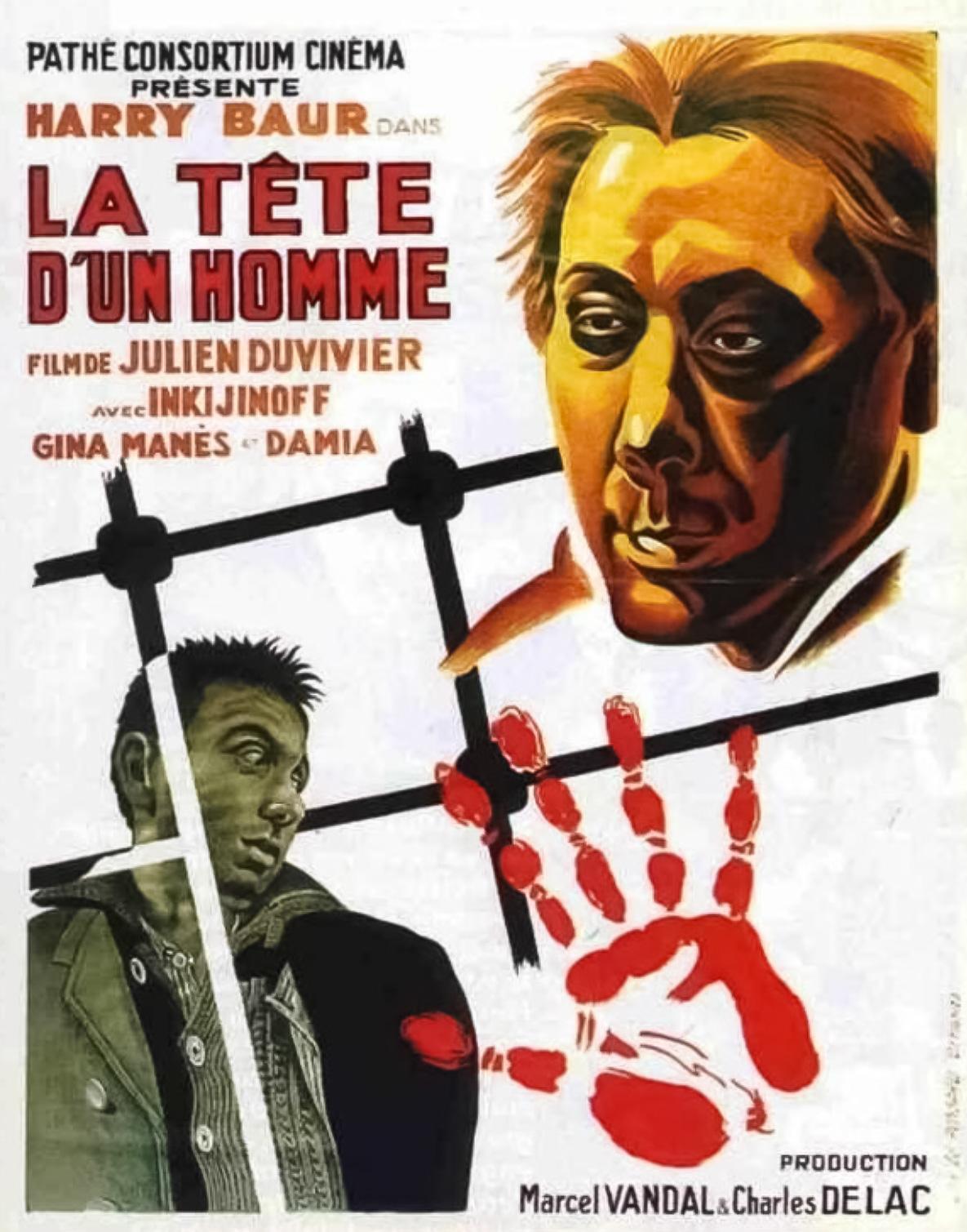 La tête d'un homme (1933)