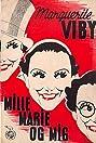 Mille, Marie og mig (1937) Poster