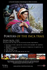 Porters of the Inca Trail Poster