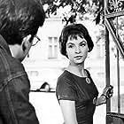 Zbigniew Cybulski and Teresa Tuszynska in Do widzenia, do jutra... (1960)