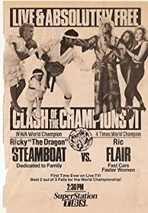 Watch for movies Clash of the Champions VI: Ragin' Cajun USA [flv]