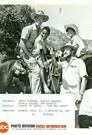 Cowboy in Africa Poster