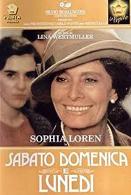 Sabato, domenica e lunedì (1992) Poster - Movie Forum, Cast, Reviews