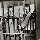 Neville Brand and Leo Gordon in Riot in Cell Block 11 (1954)