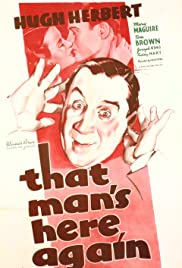 That Man's Here Again Poster