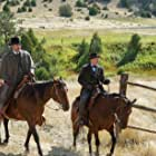Jim Caviezel and Tommy Flanagan in The Ballad of Lefty Brown (2017)