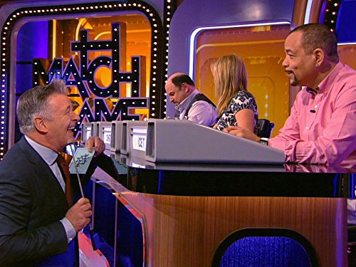 Alec Baldwin, Ice-T, Jason Alexander, and Cheryl Hines in Match Game (2016)