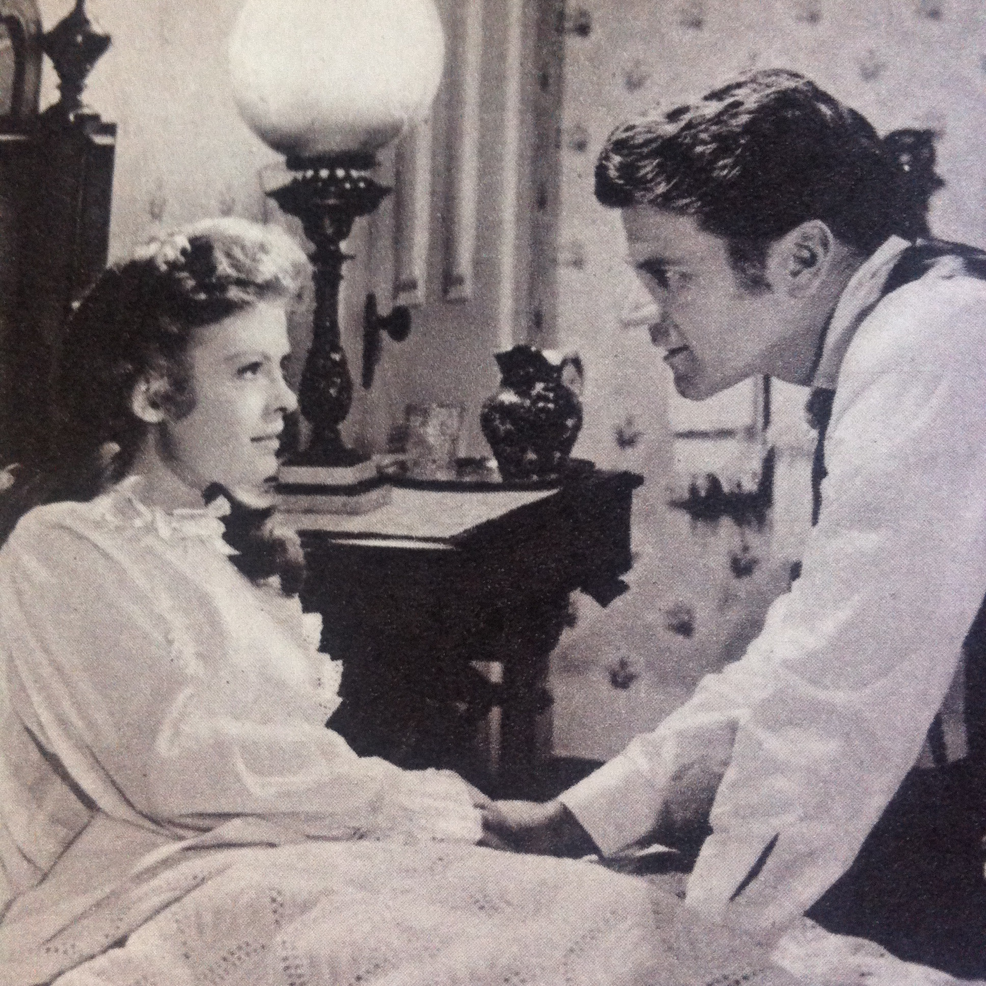 Don Murray and Patricia Owens in These Thousand Hills (1959)