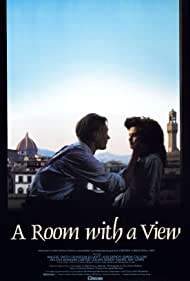 Helena Bonham Carter and Julian Sands in A Room with a View (1985)