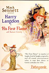 Harry Langdon and Natalie Kingston in His First Flame (1927)
