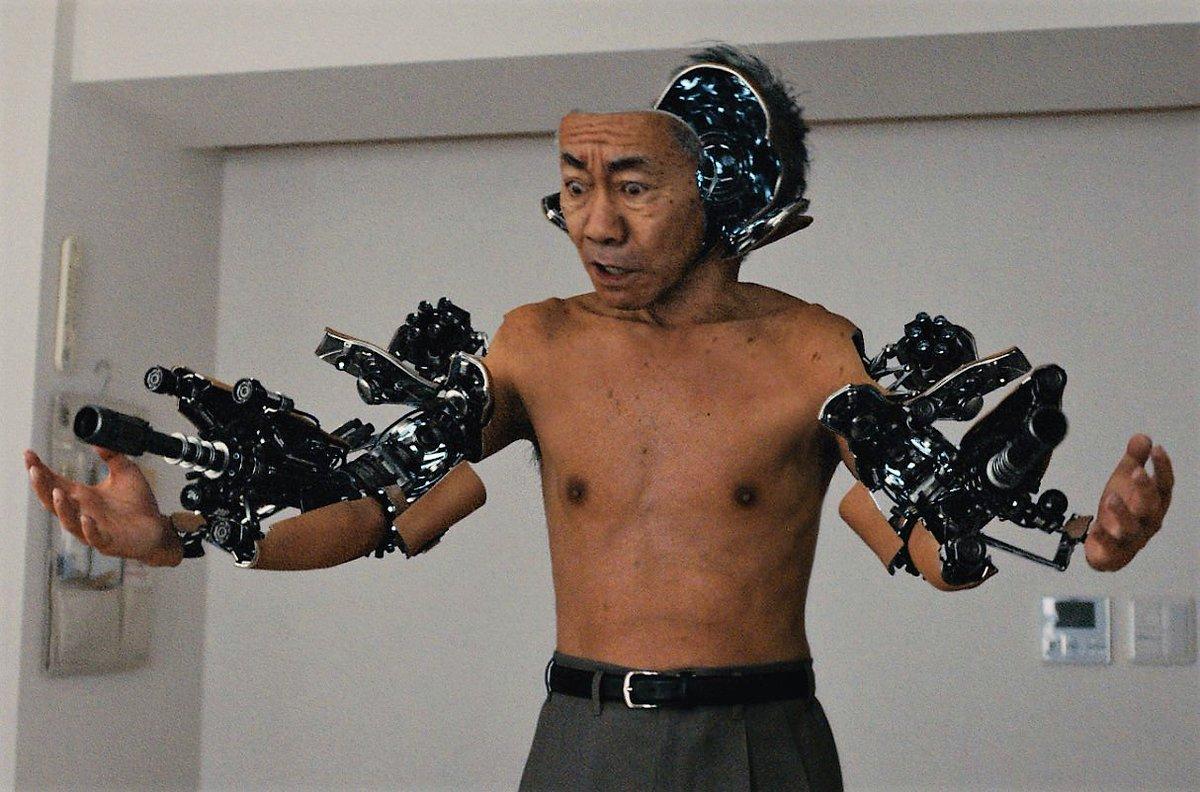 Fotograma de Noritake Kinashi in Inuyashiki (2018) vista en el ciclo de cine de Culturaca