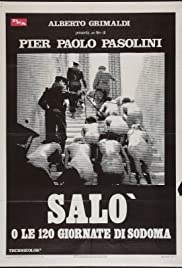 Salò, or the 120 Days of Sodom Poster
