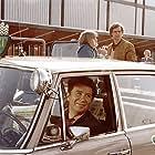 Lisbet Lundquist, Ulf Pilgaard, and Jørgen Reenberg in Pas på ryggen, professor! (1977)