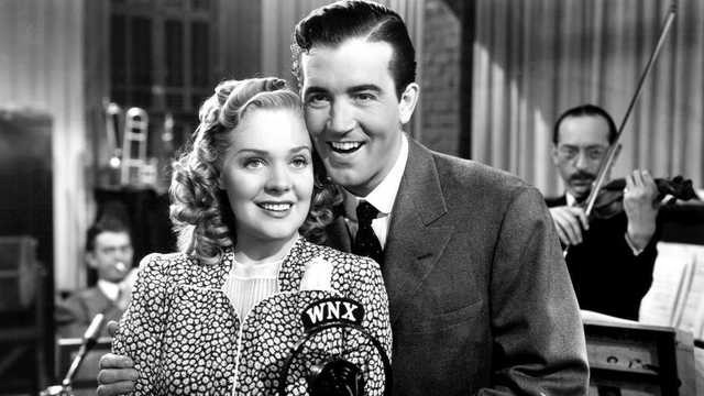 Alice Faye and John Payne in The Great American Broadcast (1941)