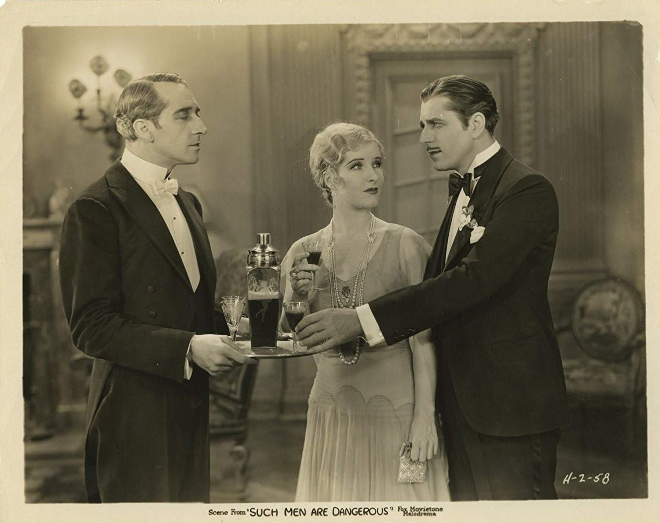 Warner Baxter and Catherine Dale Owen in Such Men Are Dangerous (1930)