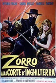 Zorro in the Court of England (1969) with English Subtitles on DVD on DVD