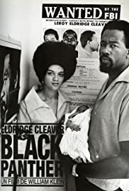 Eldridge Cleaver, Black Panther Poster