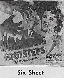 Review movie Whispering Footsteps USA [480x854]