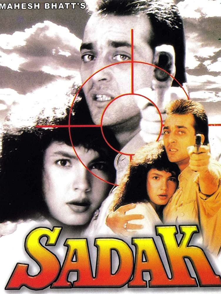 Sadak 1991 Hindi 720p HDRip 860MB Download