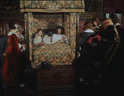 Joëlle Laugeois and Jean-Marie Patte in La prise de pouvoir par Louis XIV (1966)