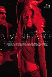 Alive in France Poster