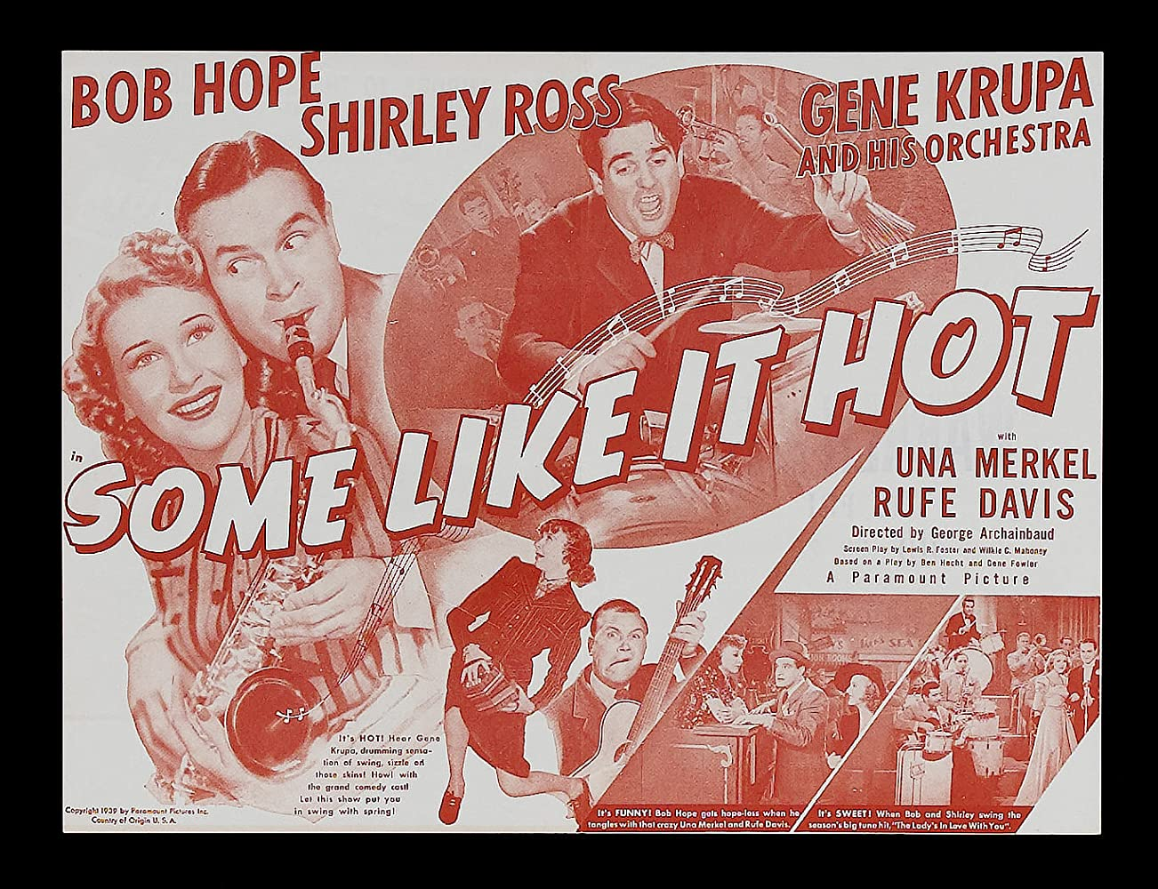Image result for Some Like It HOt 1939
