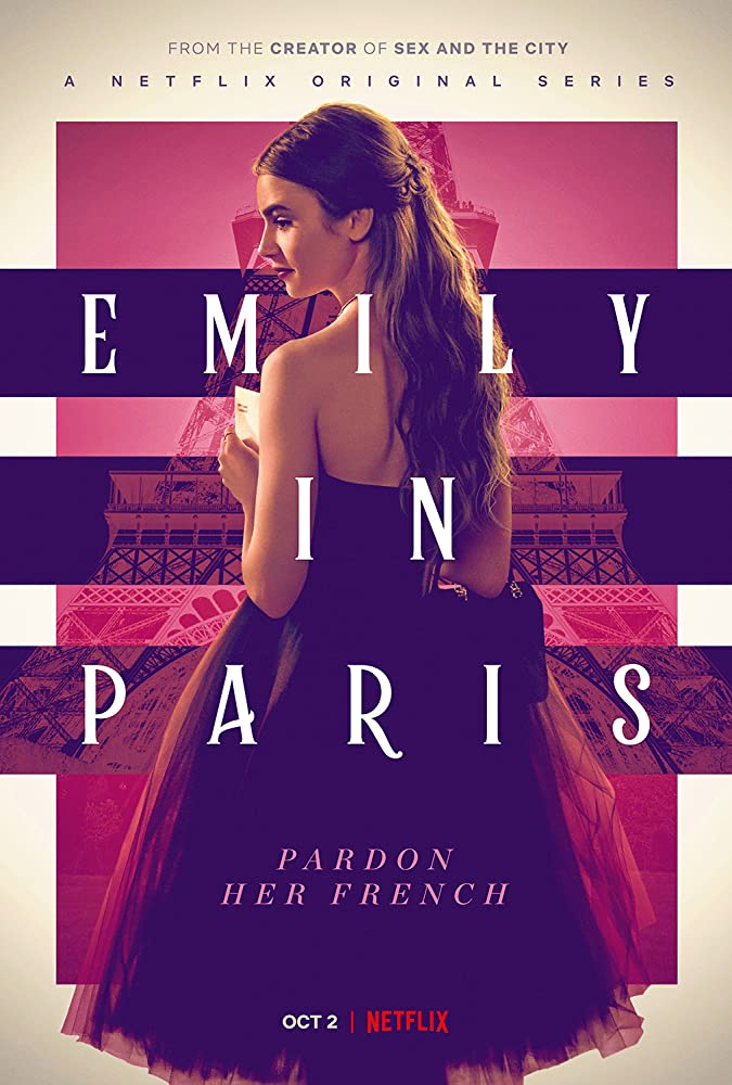 Emily in Paris (2020) S01 Hindi Complete NF Web Series 480p HDRip 900MB