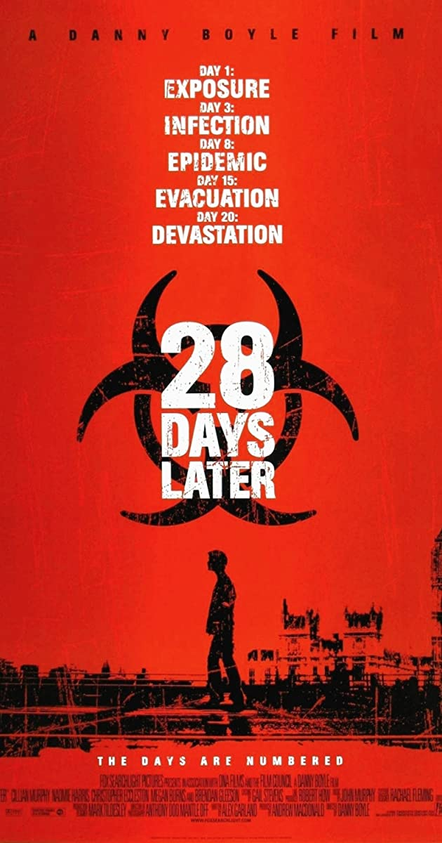 Subtitle of 28 Days Later...