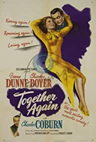 Charles Boyer, Charles Coburn, and Irene Dunne in Together Again (1944)