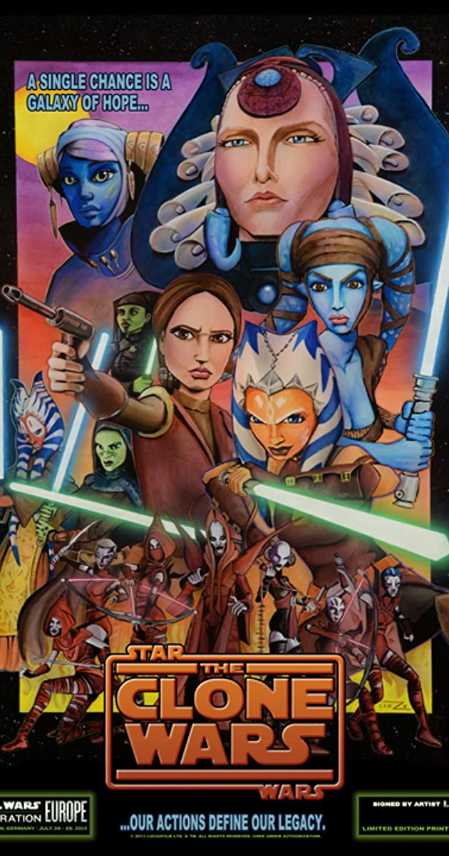 Star war the clone war movie