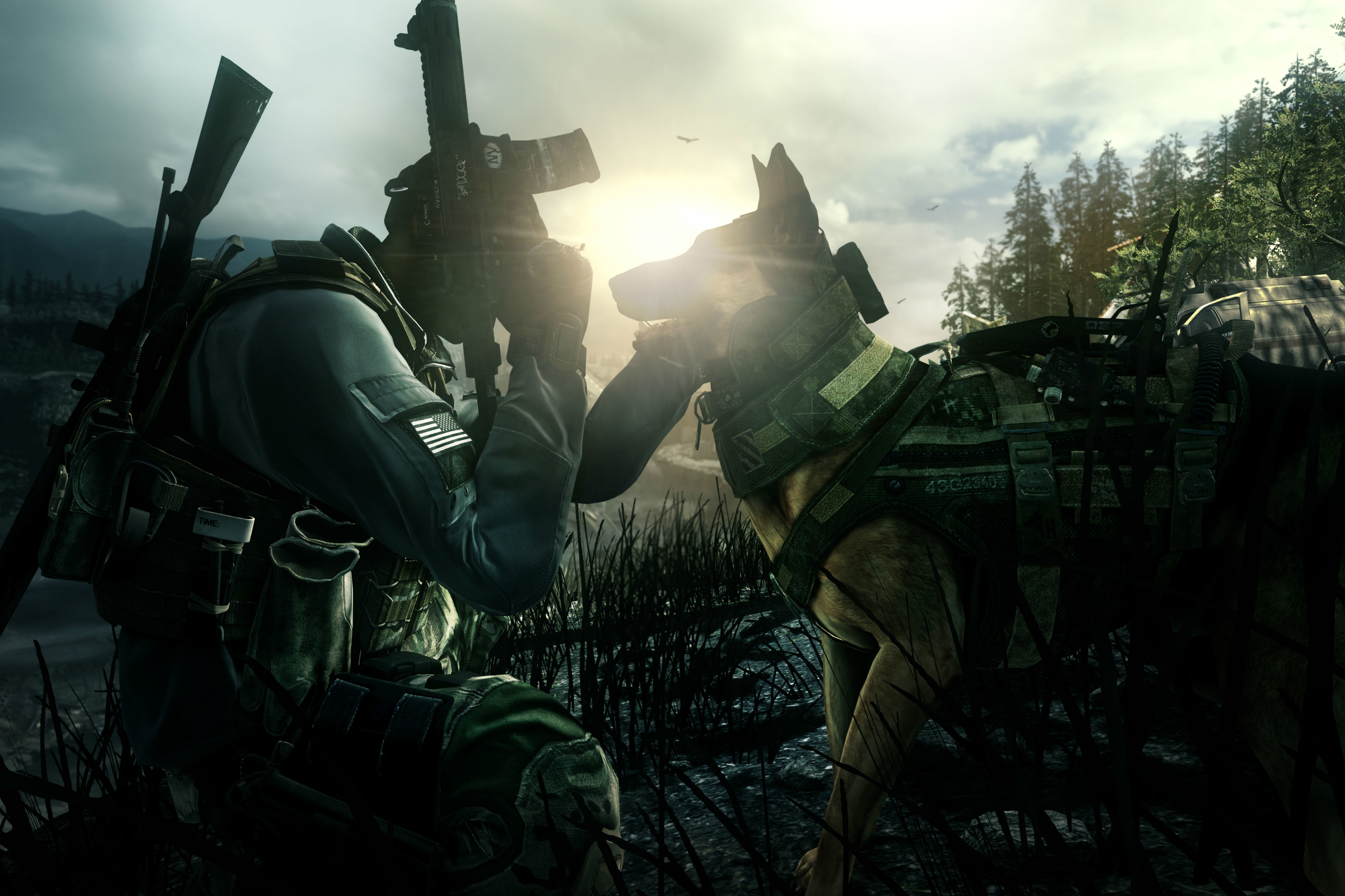Brandon Routh in Call of Duty: Ghosts (2013)
