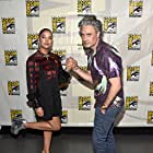 Taika Waititi and Tessa Thompson at an event for Thor: Love and Thunder (2022)