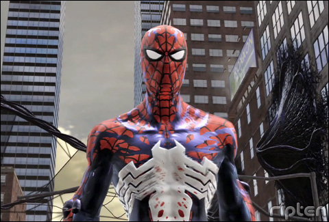 spider man web od shadows