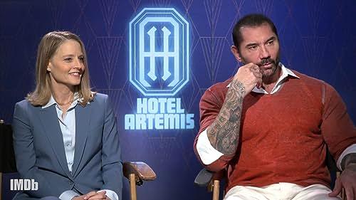 'Hotel Artemis' Mixes Dark Characters With Plenty of Fun on Set
