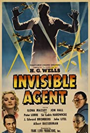 Invisible Agent (1942) Poster - Movie Forum, Cast, Reviews