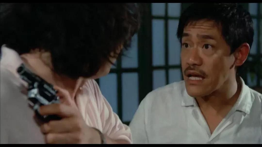 Richard Ng and John Sham in Seung lung chut hoi (1984)