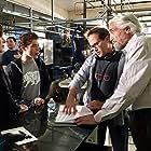 Director Marc Fusco with Hal Linden, Ryan Ochoa and cinematographer Stephen Sheridan on set of The Samuel Project.
